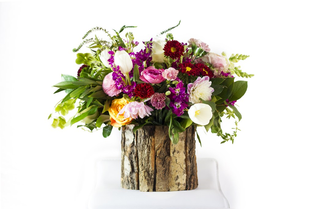 CENTERPIECES INSPIRED BY FOOD AND WINE